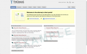 Client Portal Dashboard