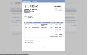 Online Invoices and Payment
