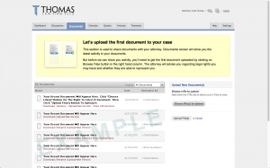 Upload and Download Legal Documents